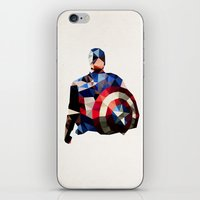 Polygon Heroes - Captain… iPhone & iPod Skin