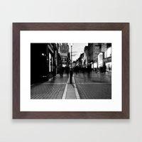 Star Light [Black & White] Framed Art Print