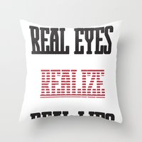 Realize Throw Pillow