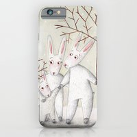 iPhone & iPod Case featuring Bunnies by Arianna Usai