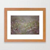morning mist Framed Art Print