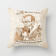 Autoportrait Throw Pillow