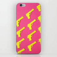 Guns Papercut iPhone & iPod Skin