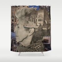 Return (You Are Here) Shower Curtain