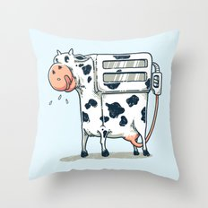 milkstations Throw Pillow