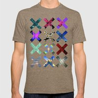 XXX Mens Fitted Tee Tri-Coffee SMALL