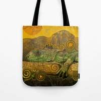 Just Chilling And Dreami… Tote Bag