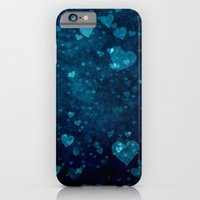 iPhone & iPod Case featuring Blue Love by Christy Leigh