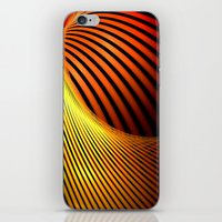 Fiery Motion And Eleganc… iPhone & iPod Skin