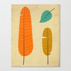 3 Leaves Canvas Print