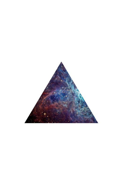 Biggest Hipster in all Cosmos Art Print