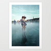Danse De La Pluie IV Art Print