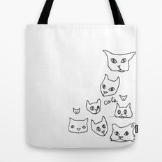 Cats Cat Tote Bag