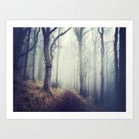 Fforest Art Print