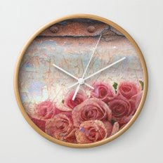 Rusty spring Wall Clock