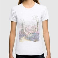 3/3 Magic Feral Woods Womens Fitted Tee Ash Grey SMALL