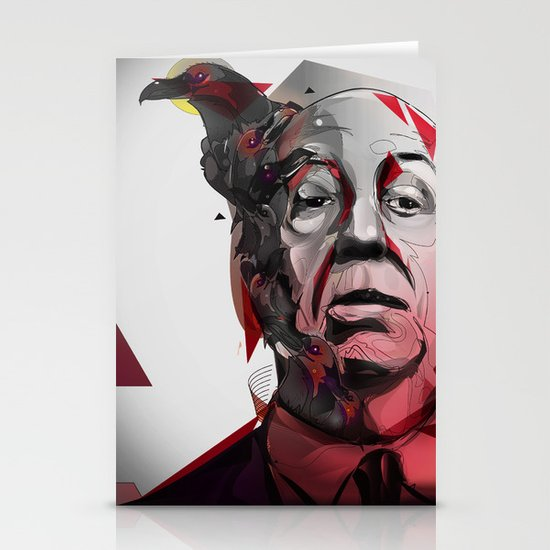 Alfred Hitchcock Stationery Card