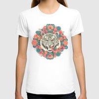 mandala T-shirts featuring bengal mandala by Laura Graves
