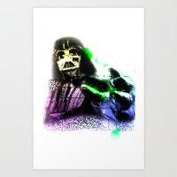 UNREAL PARTY 2012 DARTH … Art Print
