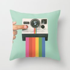 Take A Picture. It Lasts… Throw Pillow