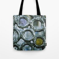 Bubbles On The Metro (de… Tote Bag