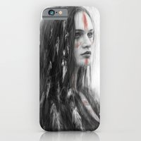 iPhone & iPod Case featuring War Feathers  by Justin Gedak