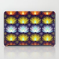 Variations on a Lotus I - Sparkle Brightly iPad Case
