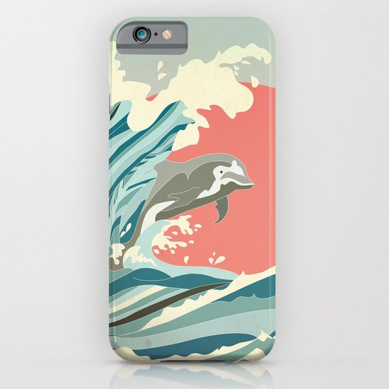 dolphin happiness iPhone & iPod Case