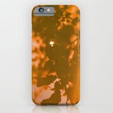orange haze and white sunlight iPhone 6s Slim Case