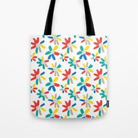 Floral Jewels Tote Bag