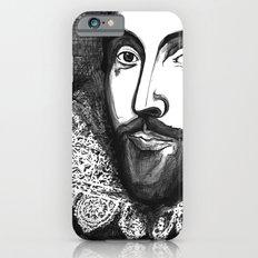 William Shakespeare Portrait - The Tudor Illustration Series iPhone 6s Slim Case