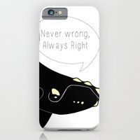Never wrong, Always Right iPhone 6 Slim Case