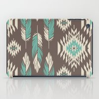 Native Roots - Turquoise & Brown iPad Case