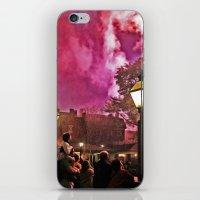 Firework Haze iPhone & iPod Skin