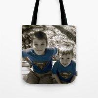 SUPER BOYS!! Tote Bag