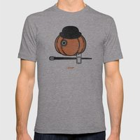 A Clockwok Pumpkin Mens Fitted Tee Athletic Grey SMALL