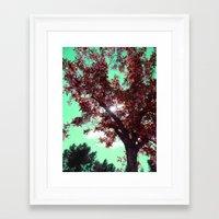 Rubis Framed Art Print