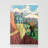 The Lost Horizon Stationery Cards