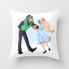 Dapper Day Throw Pillow