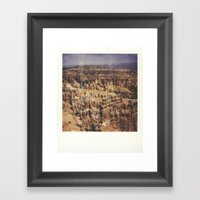 Bryce Canyon National Pa… Framed Art Print