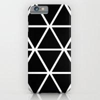 BLACK & WHITE TRIANGLES … iPhone 6 Slim Case