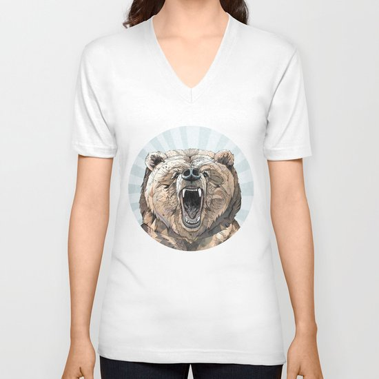 Grizzly V-neck T-shirt