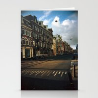 Amsterdam in Winter Stationery Cards