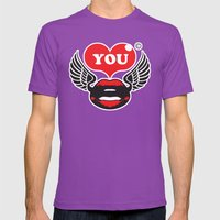 You Mens Fitted Tee Ultraviolet SMALL