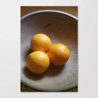 Orange You Glad I Didnt … Canvas Print
