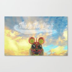 This Is The Limit Canvas Print