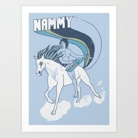 Nammy, Queen of the Stallions Art Print