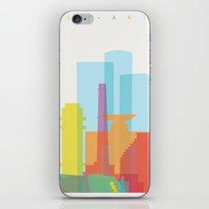 Shapes of Tel Aviv iPhone & iPod Skin