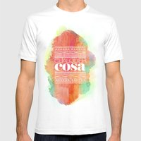 Cualquier cosa Mens Fitted Tee White SMALL