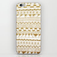 Fun (gold version) iPhone & iPod Skin